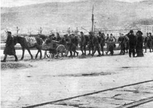 Gi austriaci abbandonano Trieste